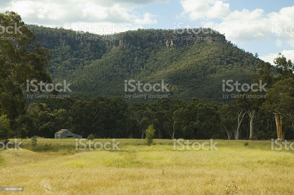 Australian coutryside royalty-free stock photo