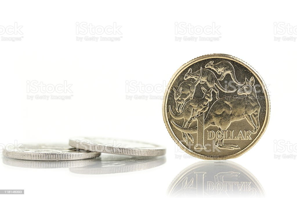 Australian currency. stock photo