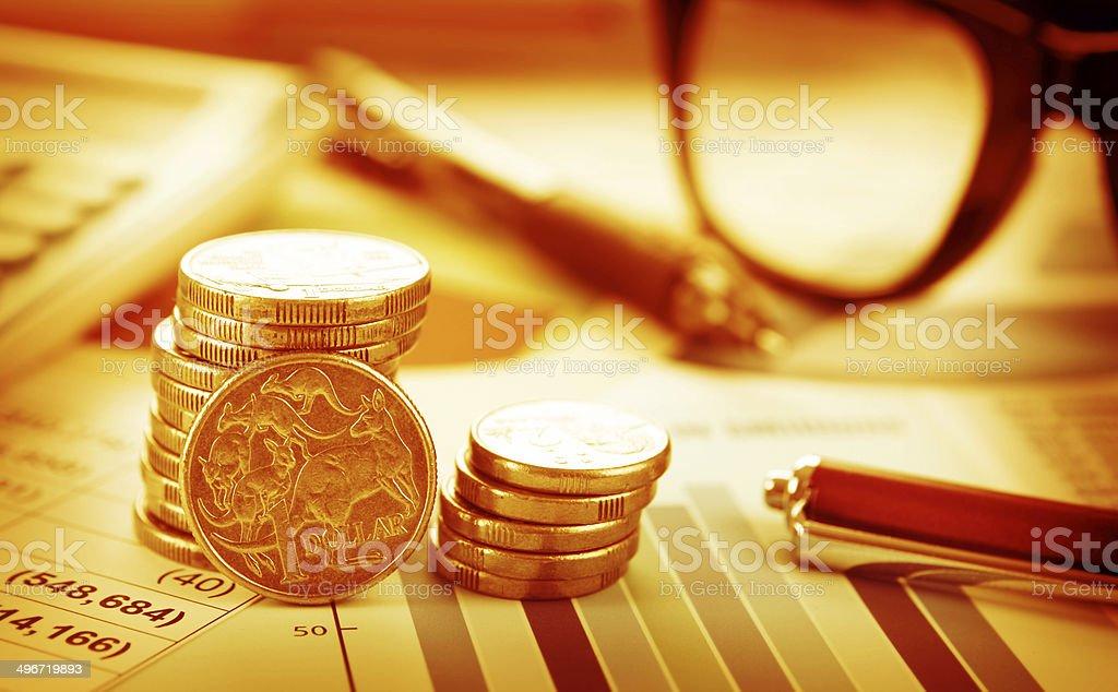 Australian Dollar stock photo