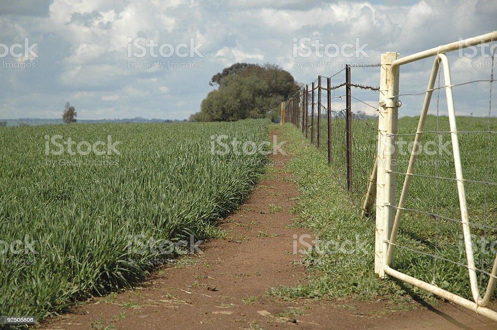 Australian Farm royalty-free stock photo