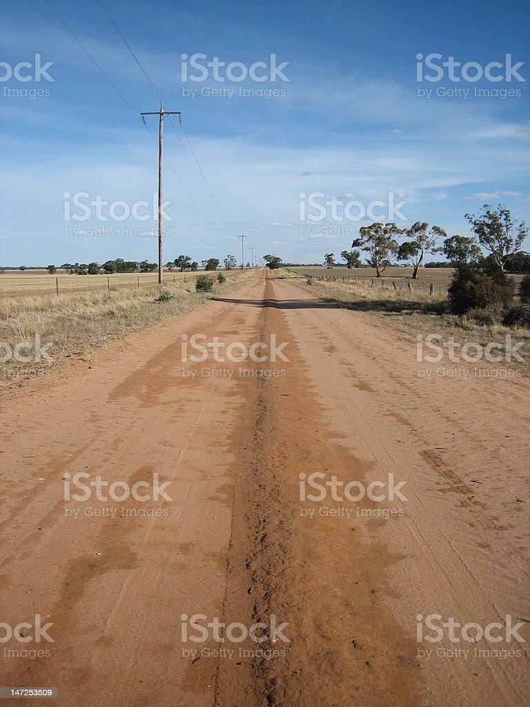 Australian Farmland royalty-free stock photo