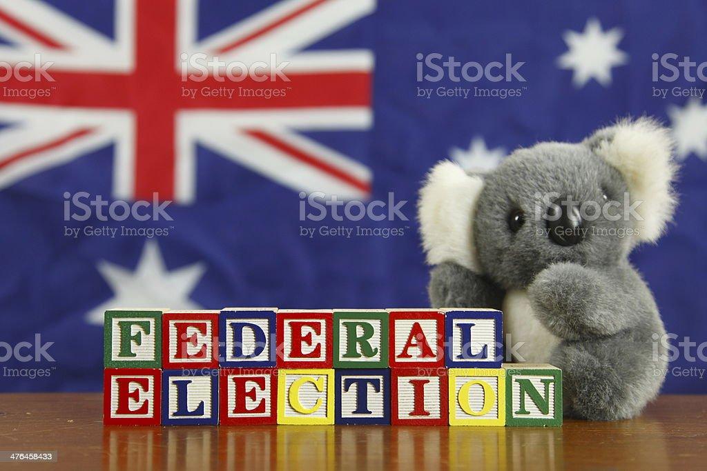 Australian Federal Election royalty-free stock photo