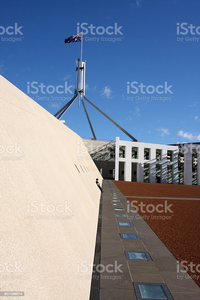 Australian Federal Parliament stock photo