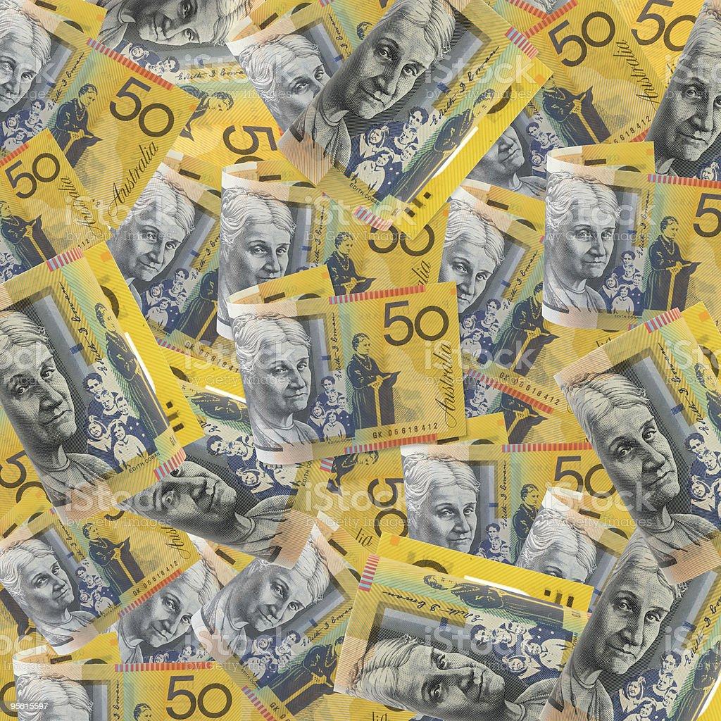 Australian Fifties royalty-free stock photo