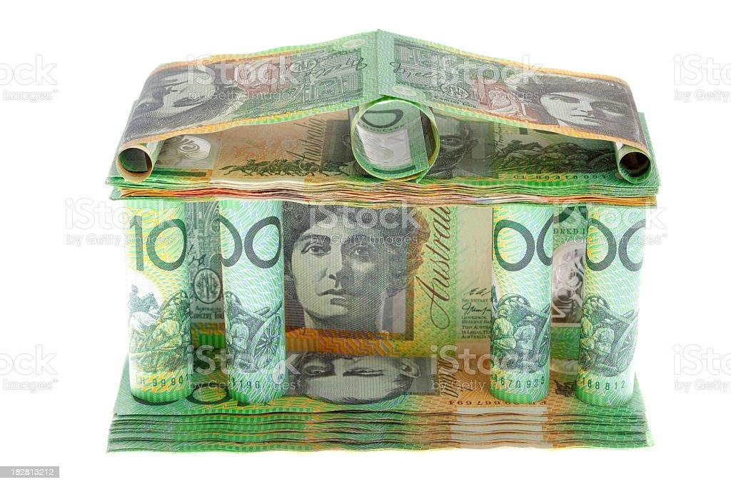 Australian financial institution. royalty-free stock photo