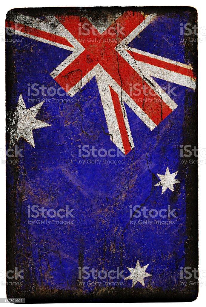 Australian Flag XXL royalty-free stock photo