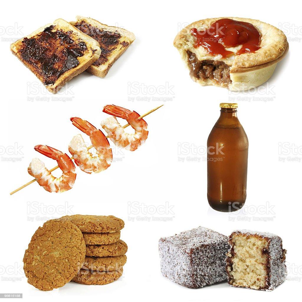 Australian Food stock photo