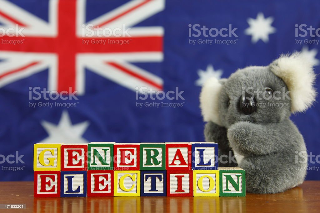 Australian General Election royalty-free stock photo