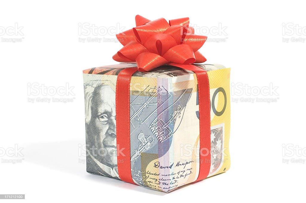 australian gift stock photo