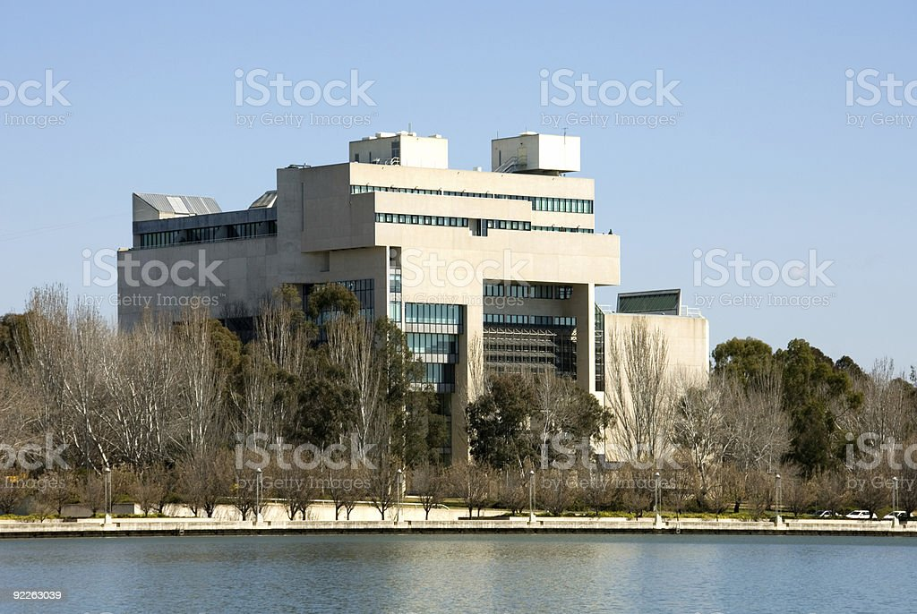 Australian High Court royalty-free stock photo