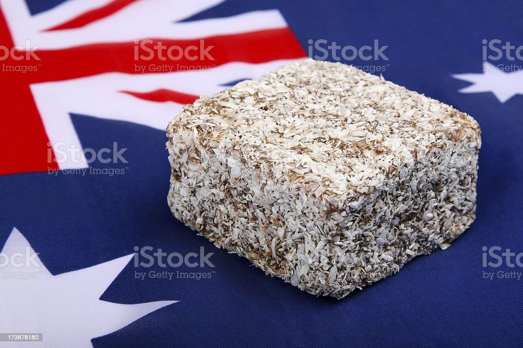 Australian Lamington stock photo