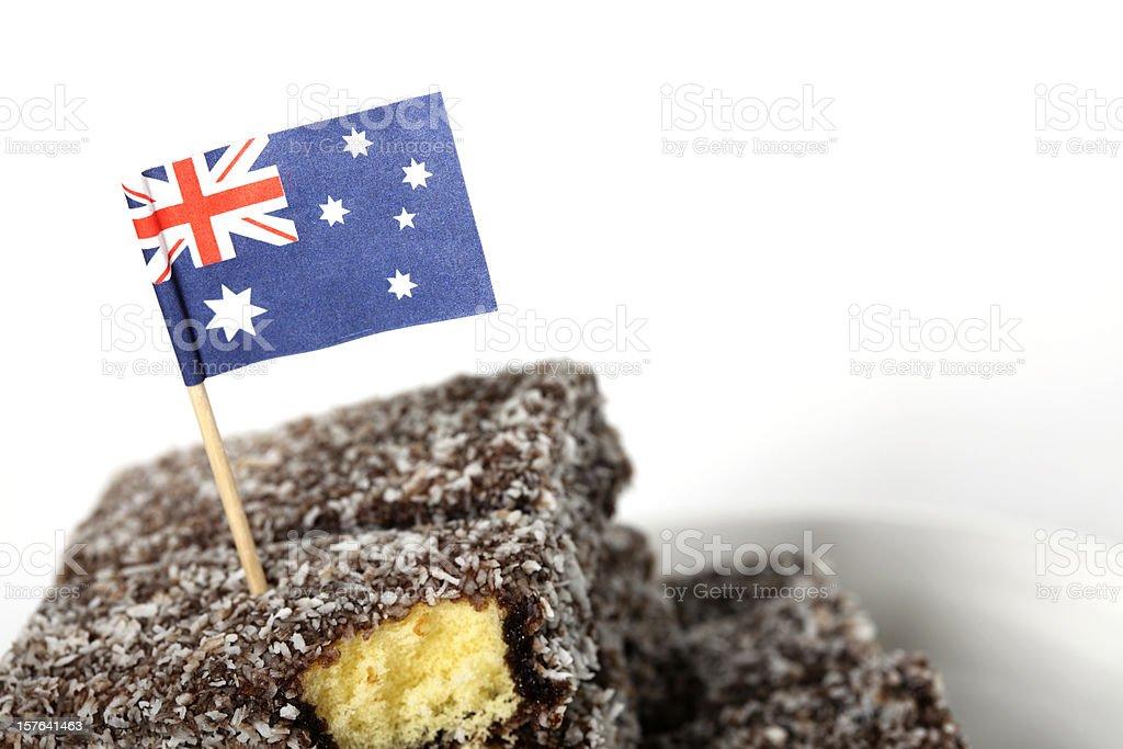 Australian Lamingtons stock photo