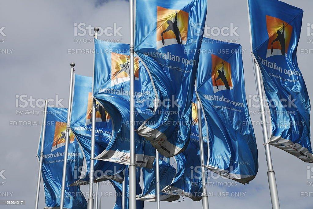 Australian Open Tennis stock photo