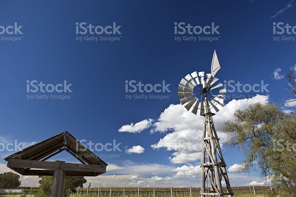 Australian outback royalty-free stock photo