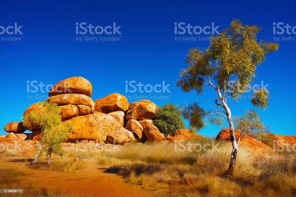 Australian Outback stock photo