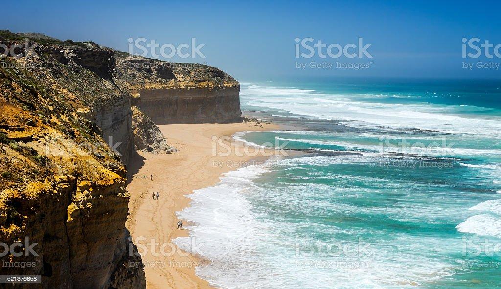 Australian Pacific coast stock photo