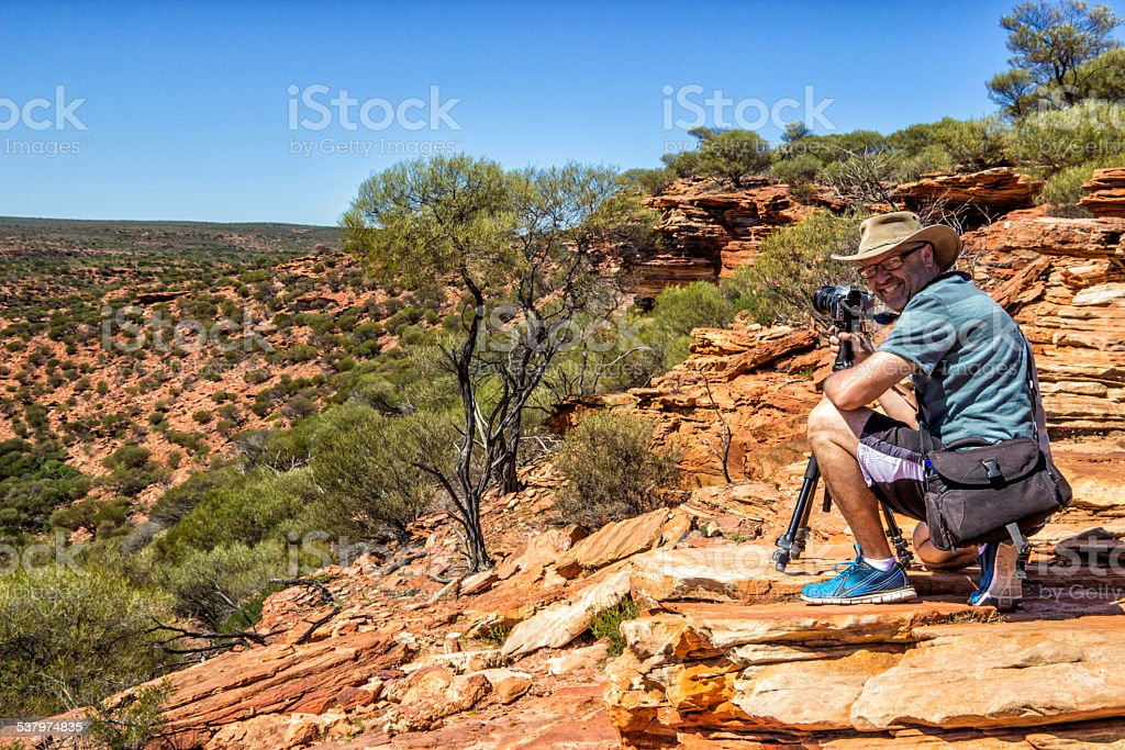 Australian Photographer stock photo