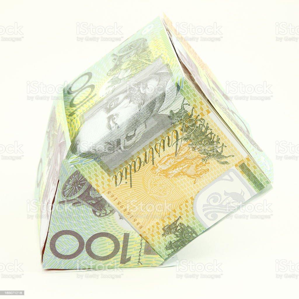 Australian Property Crash stock photo
