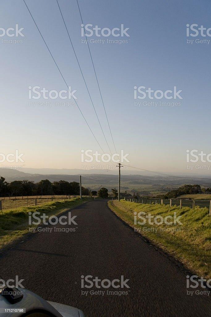 Australian road trip royalty-free stock photo