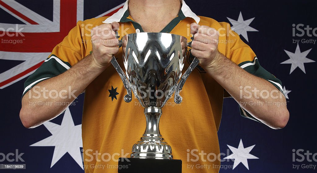 Australian Rugby stock photo