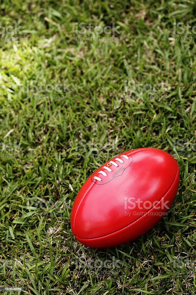 Australian Rules Football royalty-free stock photo