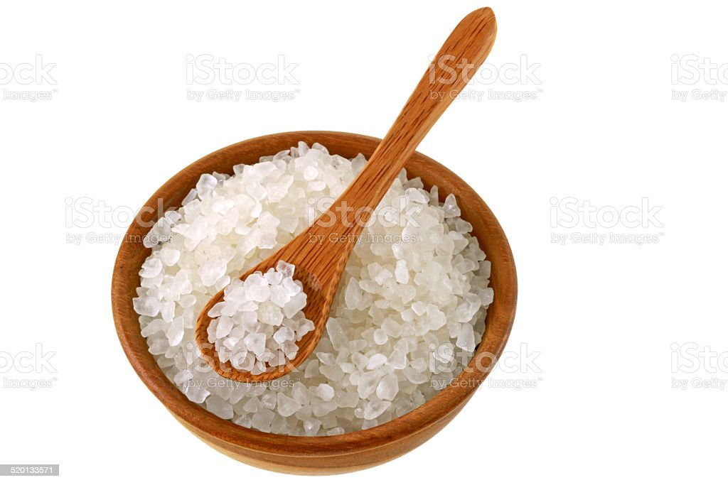 Australian sea salt stock photo