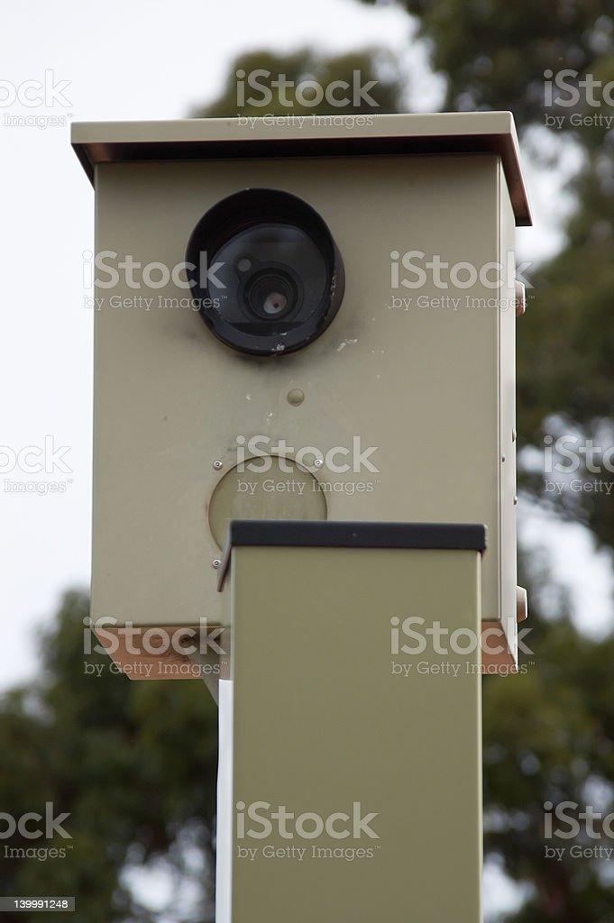 Australian Speed Camera royalty-free stock photo