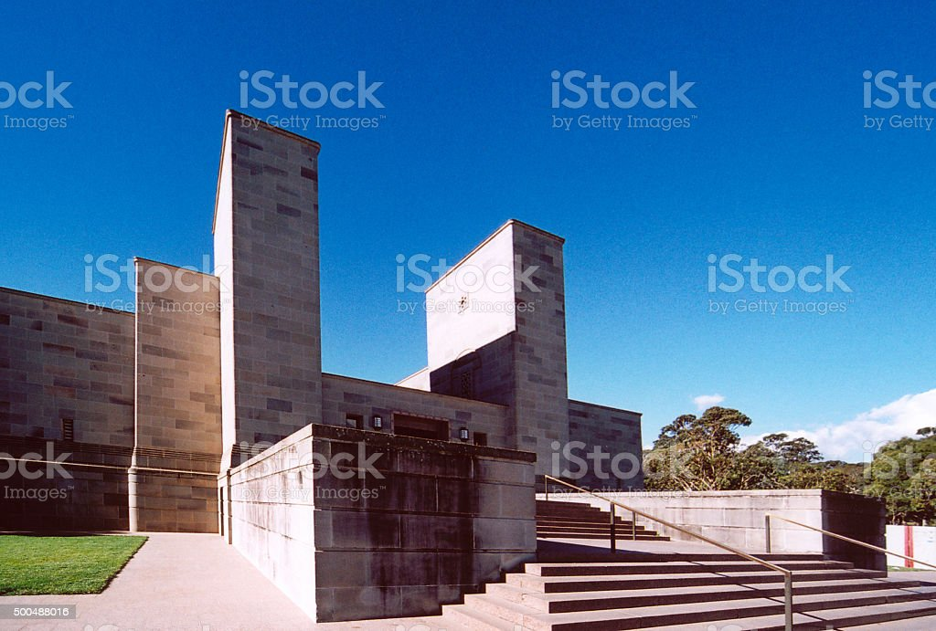 Australian war memorial, Canberra stock photo