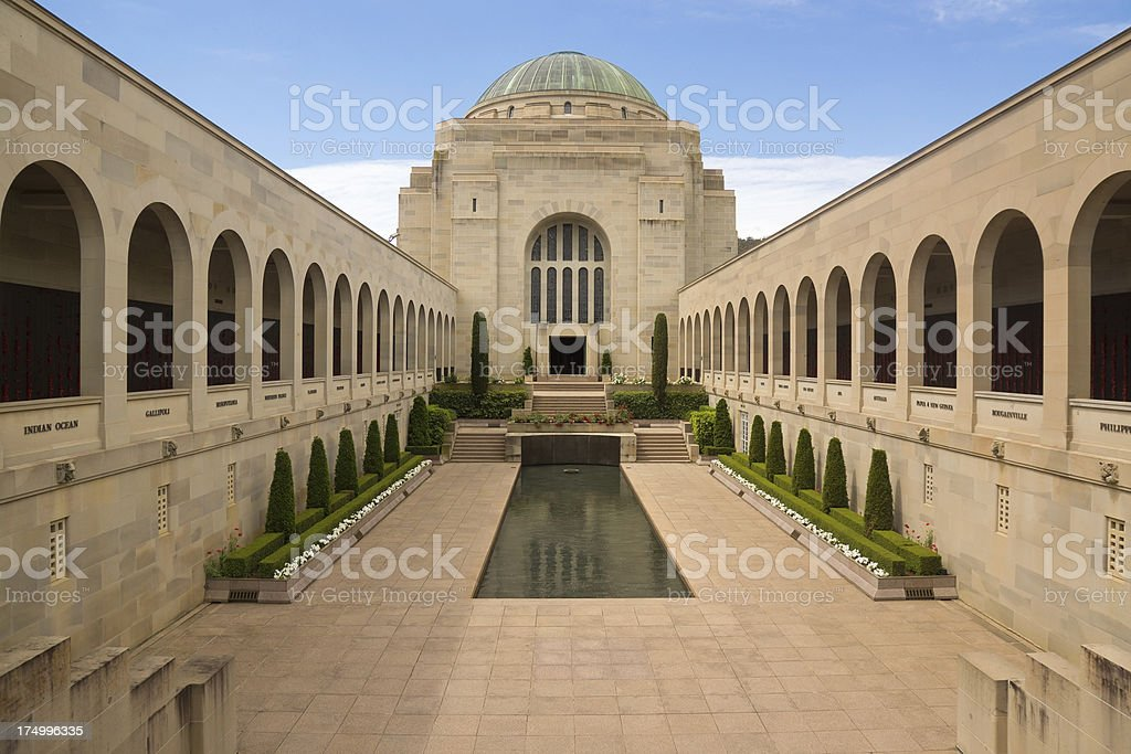 Australian War Memorial royalty-free stock photo