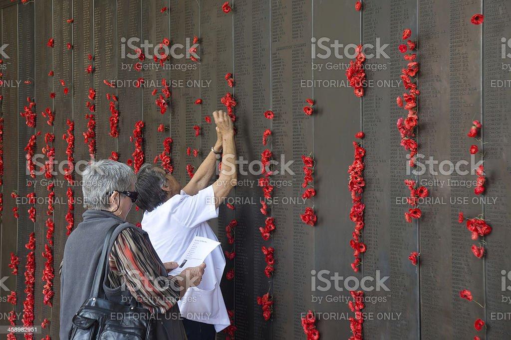Australian War Memorial - Remembrance Day stock photo