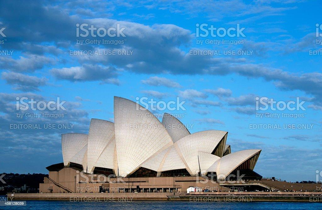 Australia's most famous building; Sydney Opera House royalty-free stock photo