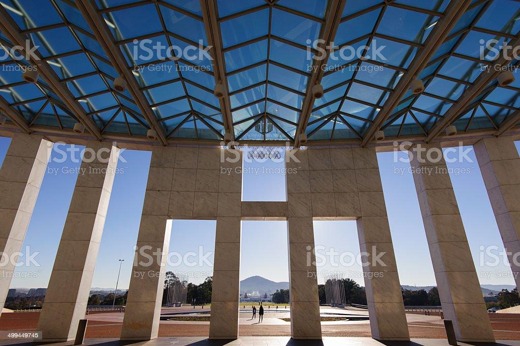 Australia's Parliament House stock photo