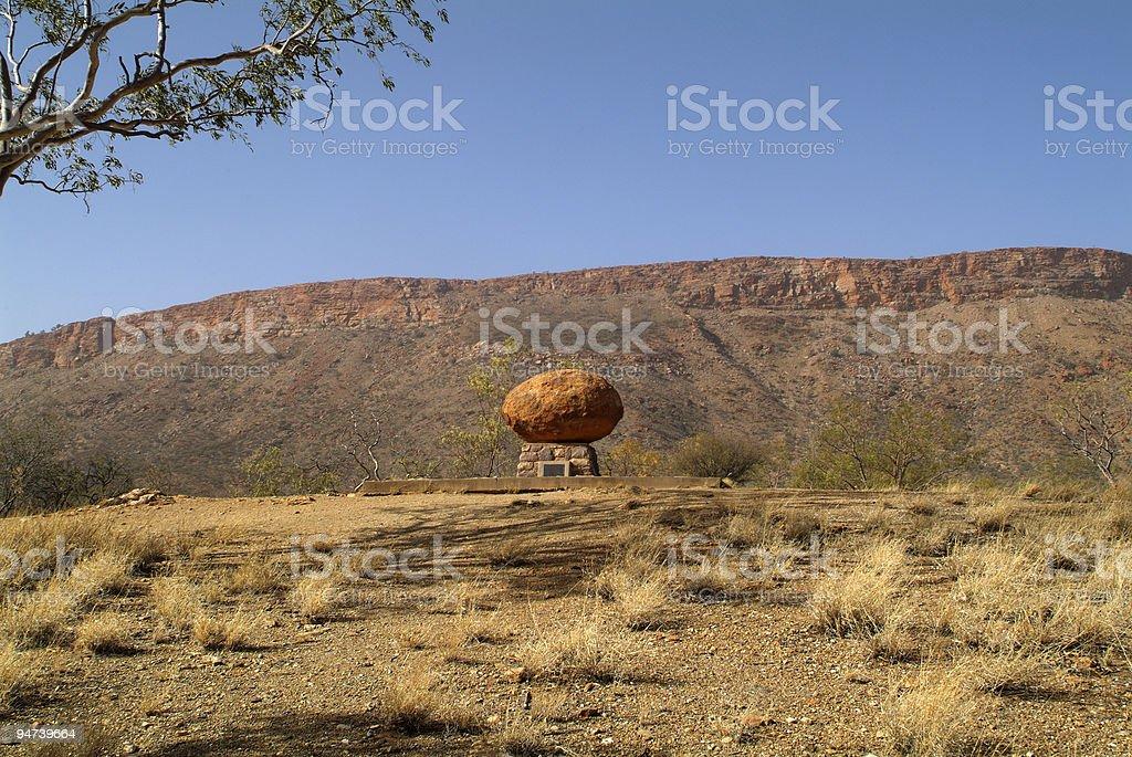 Australien, NT, Alice Springs royalty-free stock photo