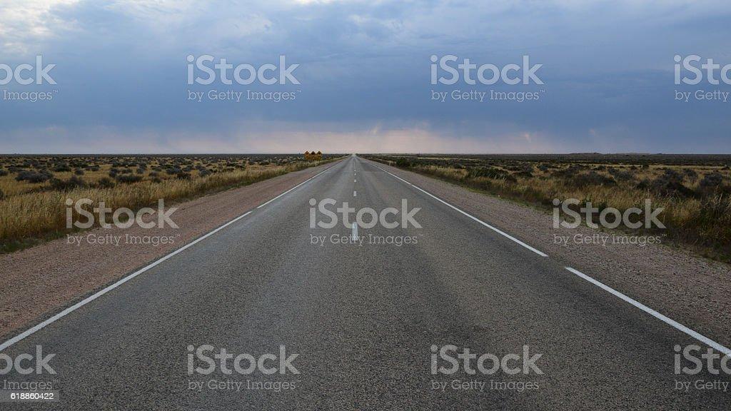 Australien, Nullarbor Plain stock photo