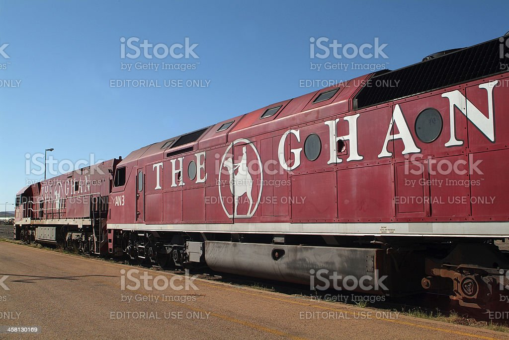 Australien, The Ghan stock photo