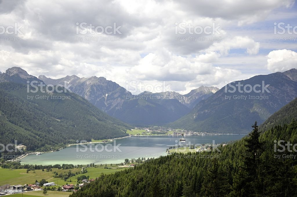 Austria achensee stock photo