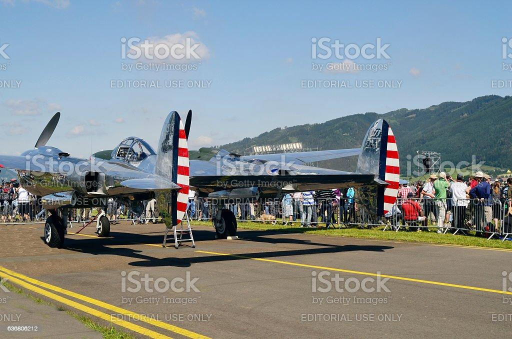 Austria, Airshow - Airpower11 stock photo