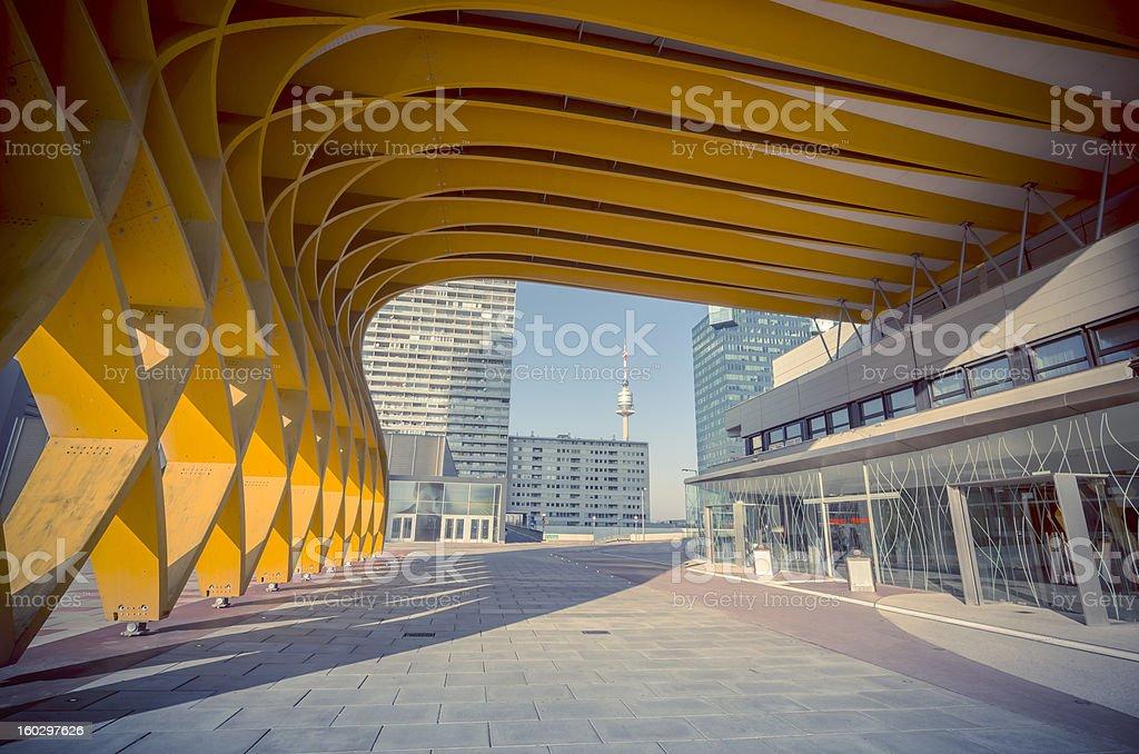 Austria Center Vienna stock photo