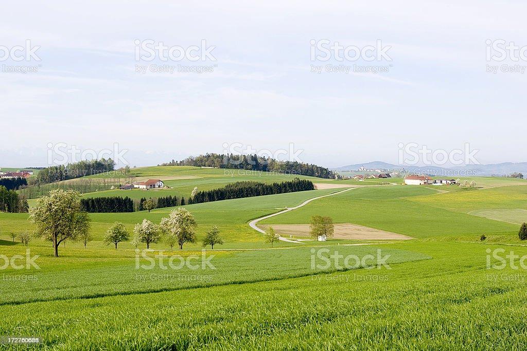 Austria countryside stock photo