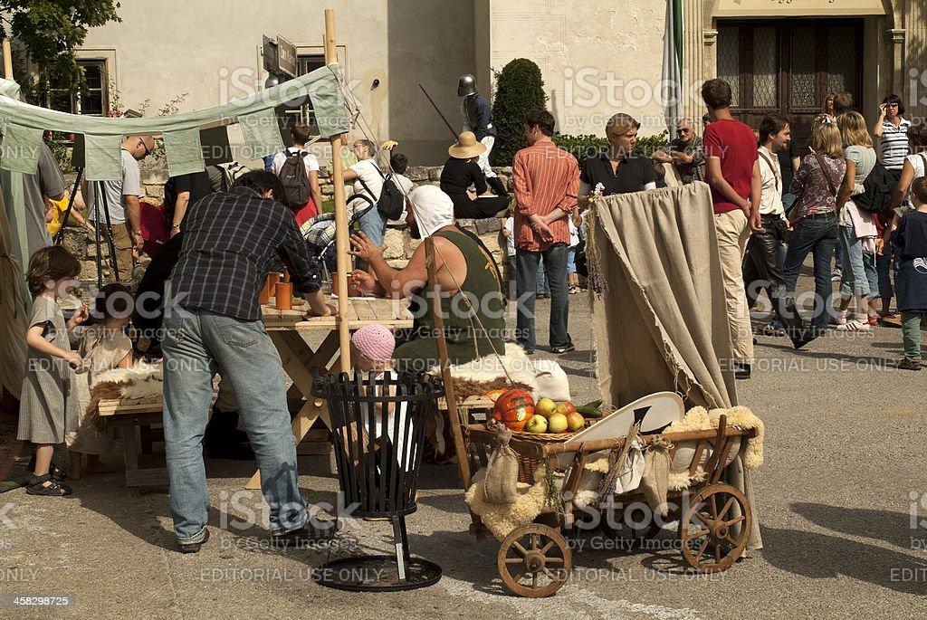 Austria, Eggenburg Festival royalty-free stock photo