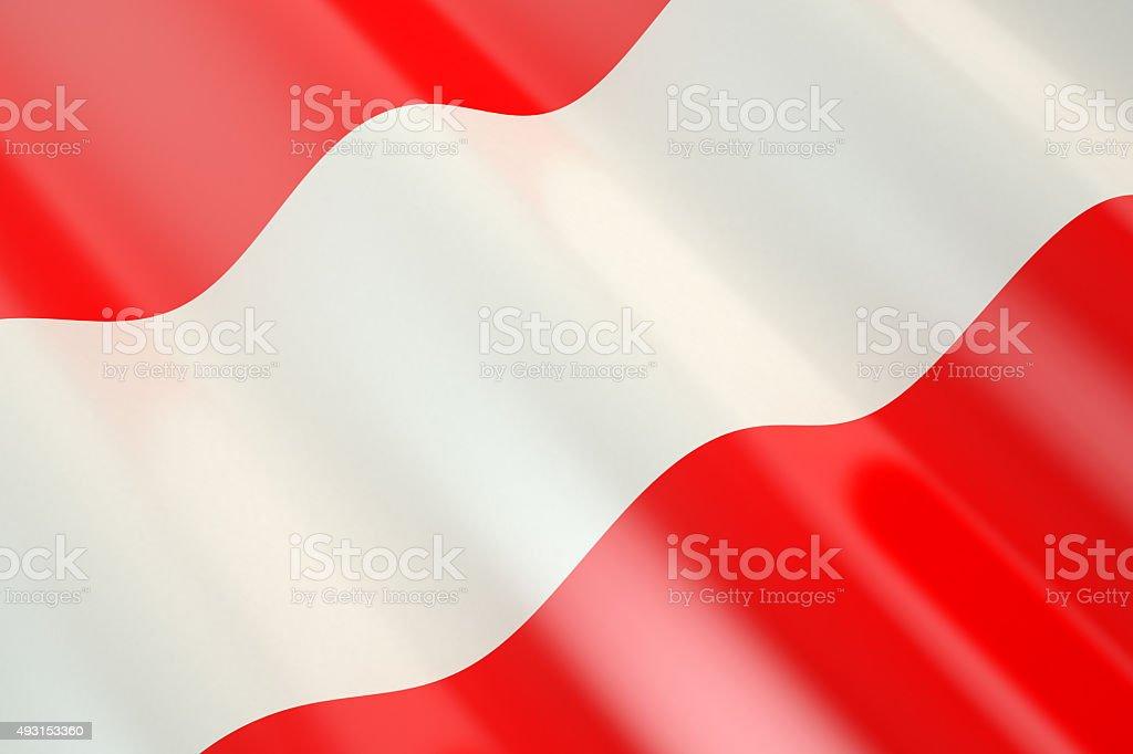 Austria Flag stock photo
