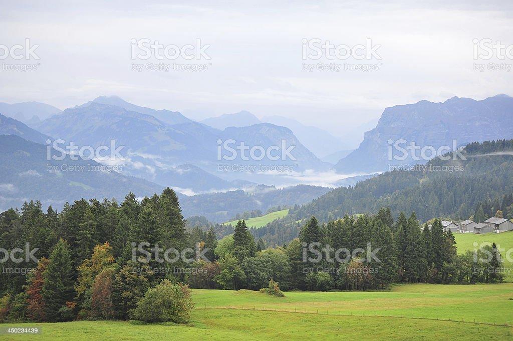 Austria from ists best side. ?sterreich von seiner sch?nsten Herbstseite stock photo