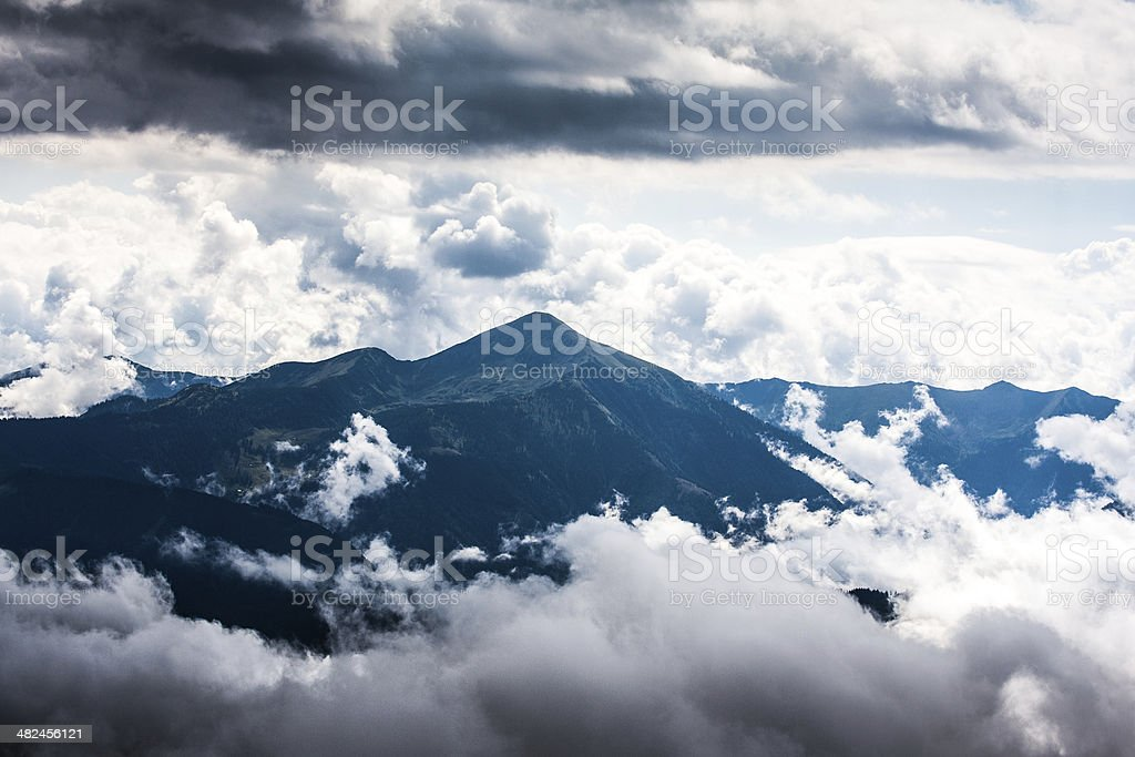 Austria mountains stock photo