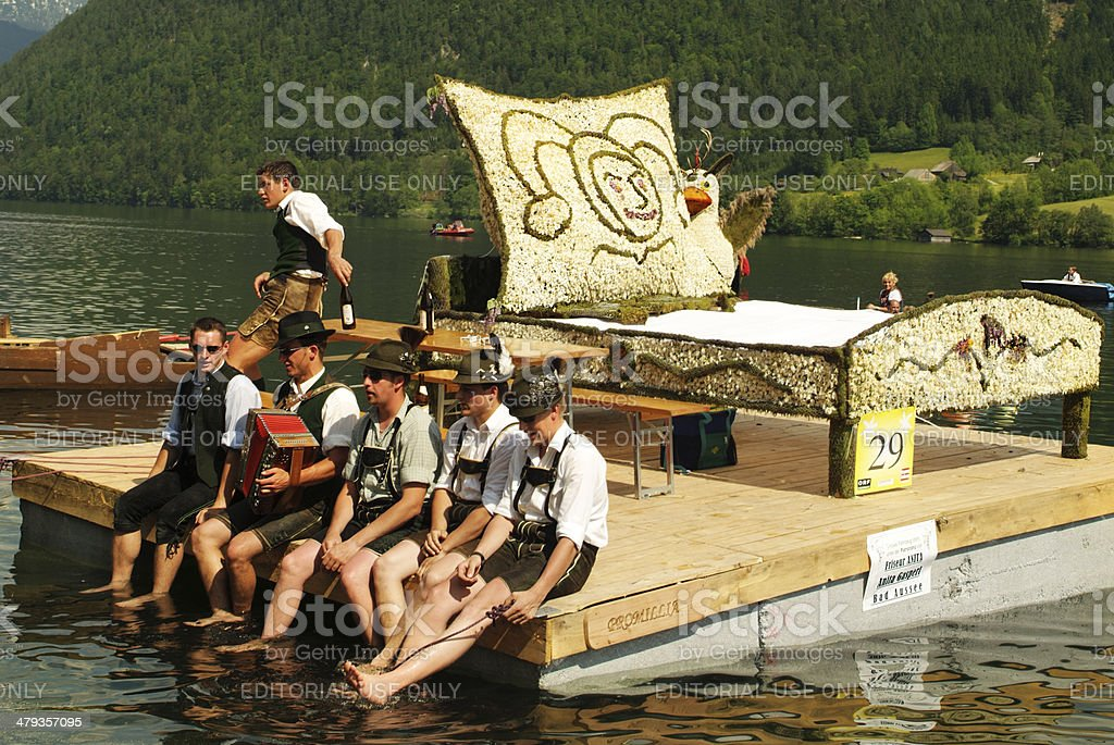 Austria, Narzissenfest stock photo