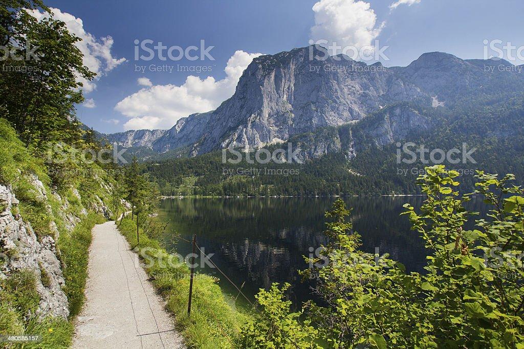 Austria panorama stock photo
