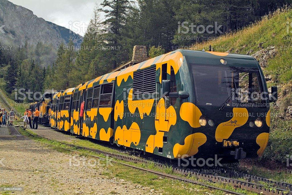 Austria, Railway stock photo