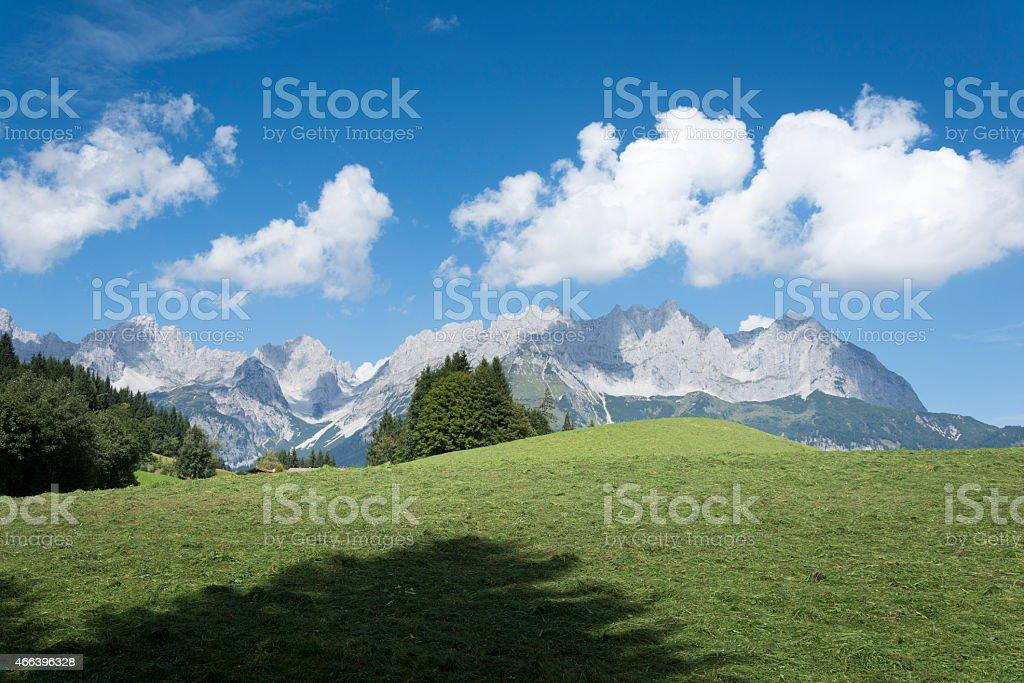 Austria, Tirol, the Kaisergebirge 'Wilder Kaiser' stock photo
