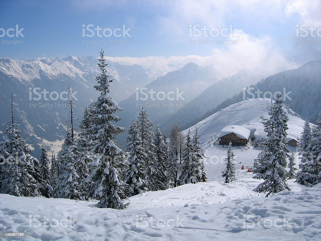 Austria / Winter Dream stock photo