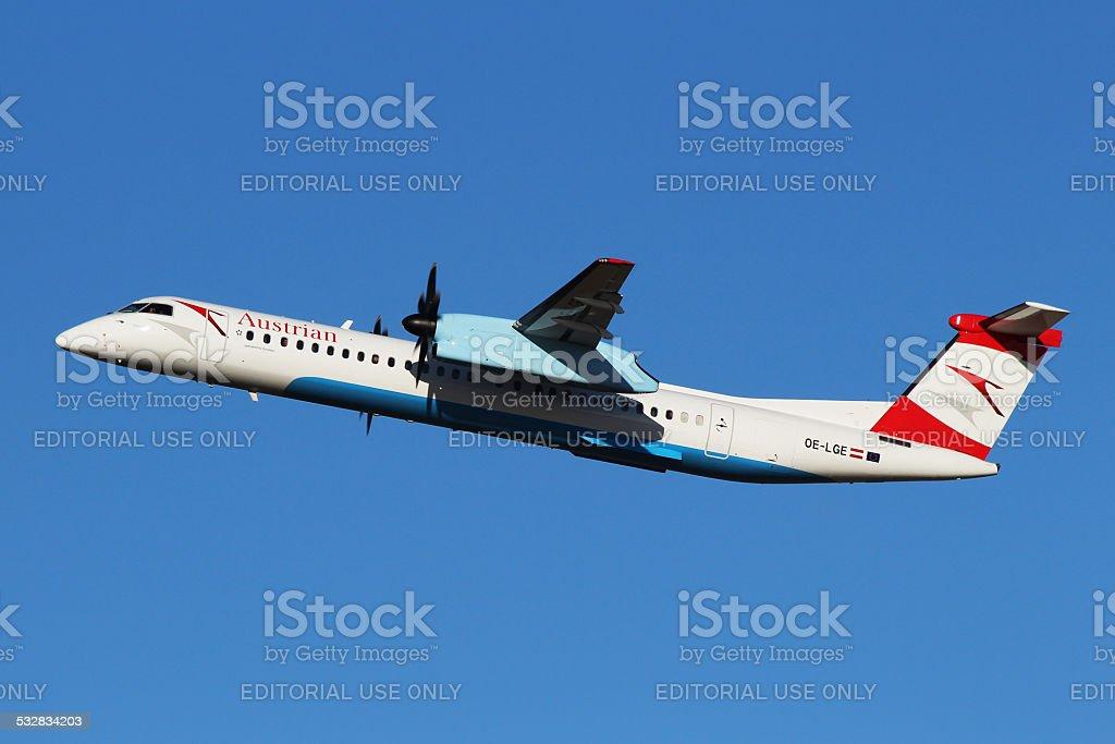 Austrian Airlines (Tyrolean Airways) stock photo