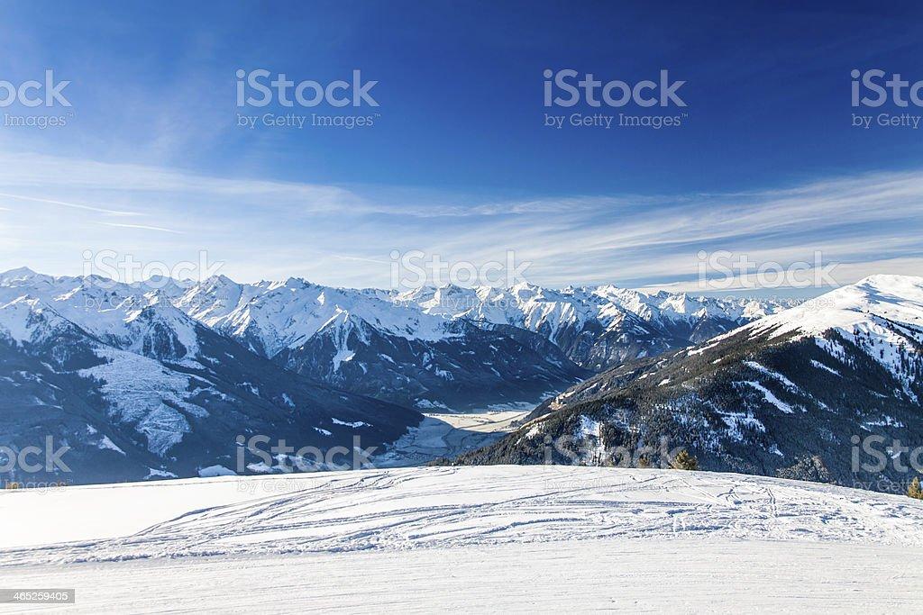 Austrian Alps near Kitzbuehel stock photo